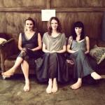 Three Muses on Couch